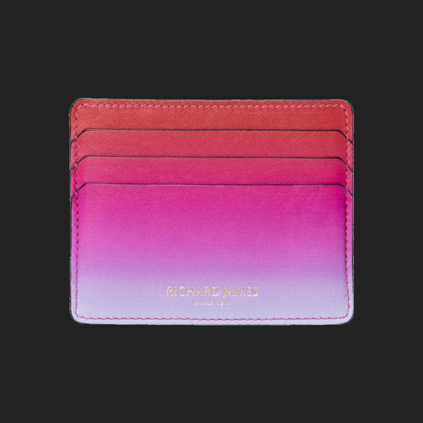 RICHARD JAMES PINK AND LILAC FAZE CARD HOLDER