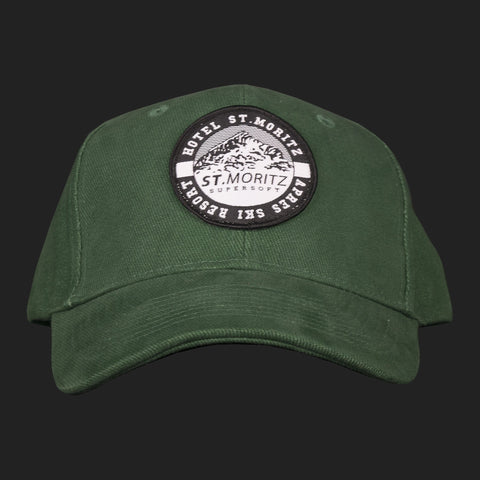 St. Moritz Classic Supersoft Baseball cap - (GREEN)