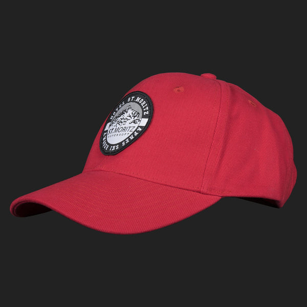 St. Moritz Classic Supersoft Baseball cap - (RED)