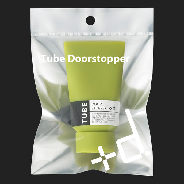 +d TUBE DOOR STOPPER (BLACK)