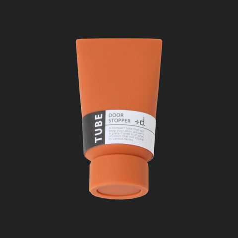+d TUBE DOOR STOPPER (ORANGE)