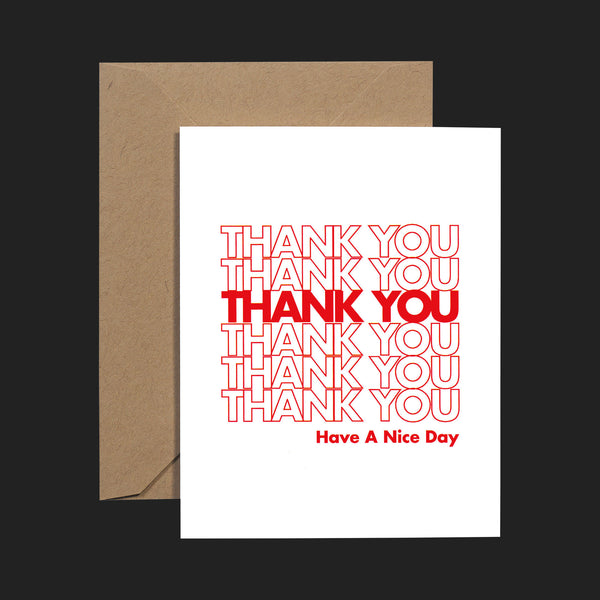 "TERRAPIN ""THANK YOU HAVE A NICE DAY"" CARDS (PACK OF 6)"