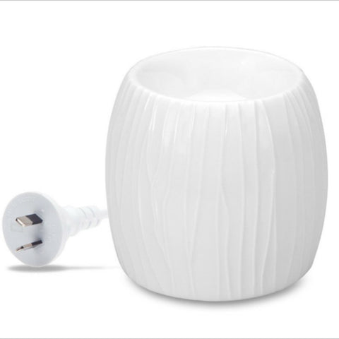 Electric Soy Wax Warmer White