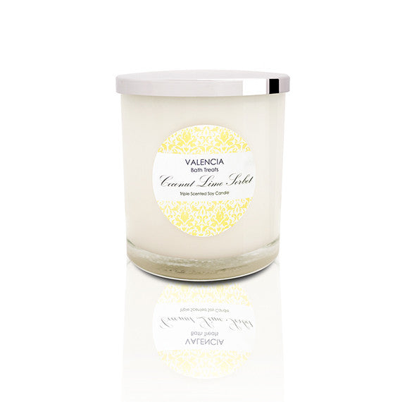 Coconut Lime Sorbet Soy Candle
