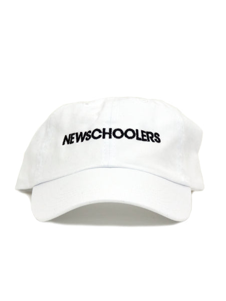 Newschoolers Dad Hat 2.0 White
