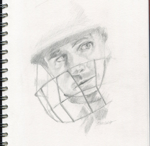 cricket england portrait drawing james taylor