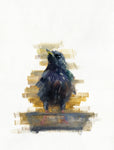 oil painting of hope starling