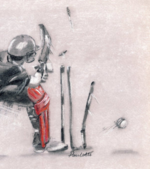 cricket drawing sweep action