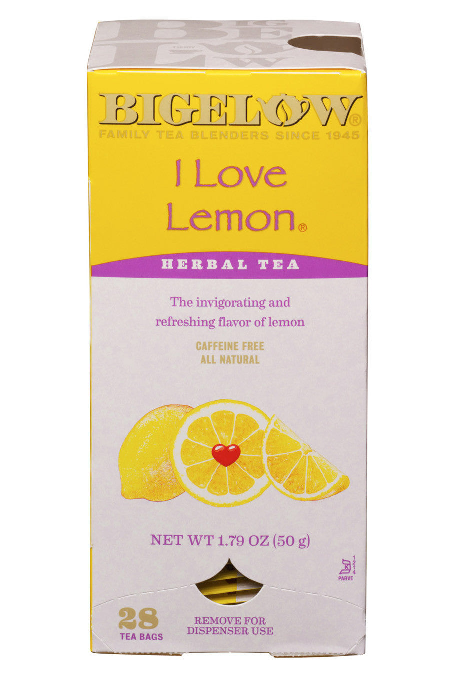 Bigelow I Love Lemon 28ct