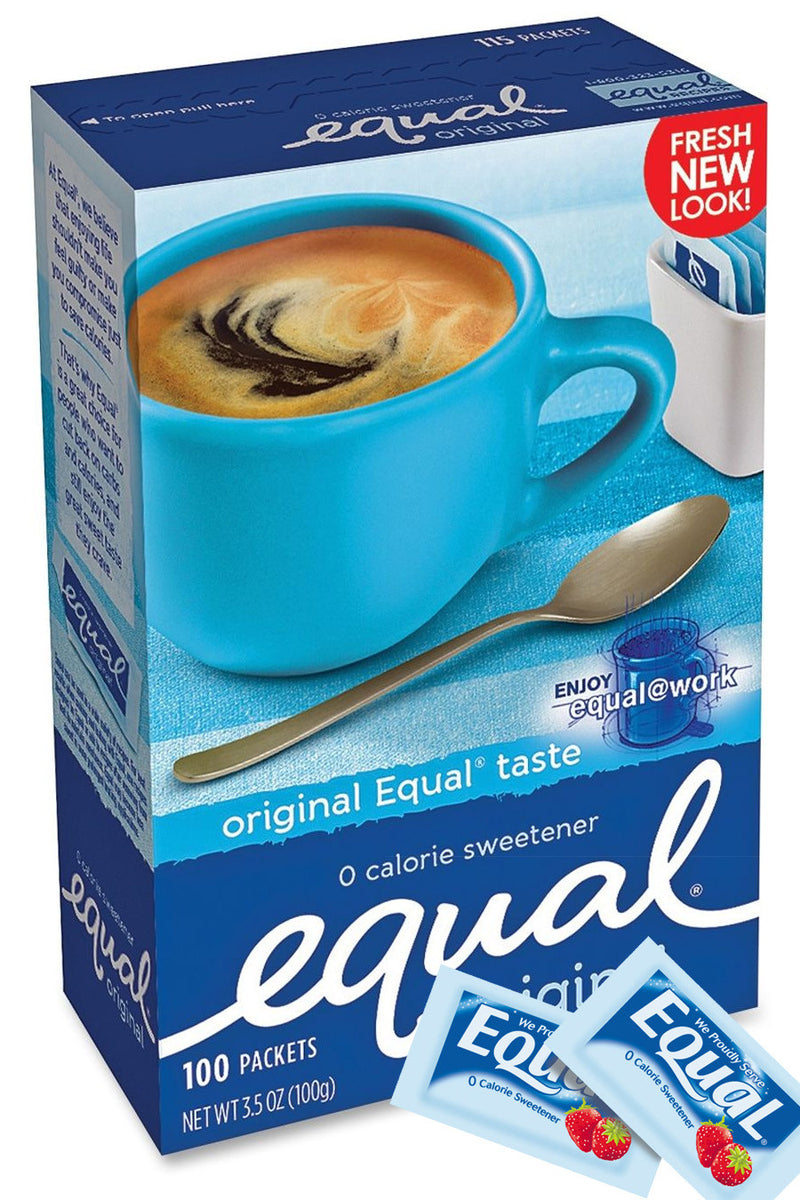 Equal Sugar Substitute Packets 100ct