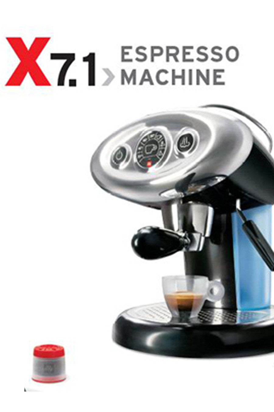 Illy Francis Francis X7.1 – McCullagh Coffee Roasters