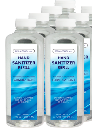 Surface Sanitizer 8/32oz Containers