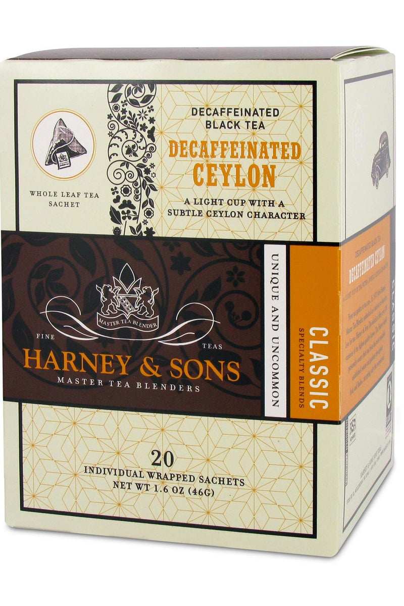 Harney & Sons Decaffeinated Ceylon Tea 20ct