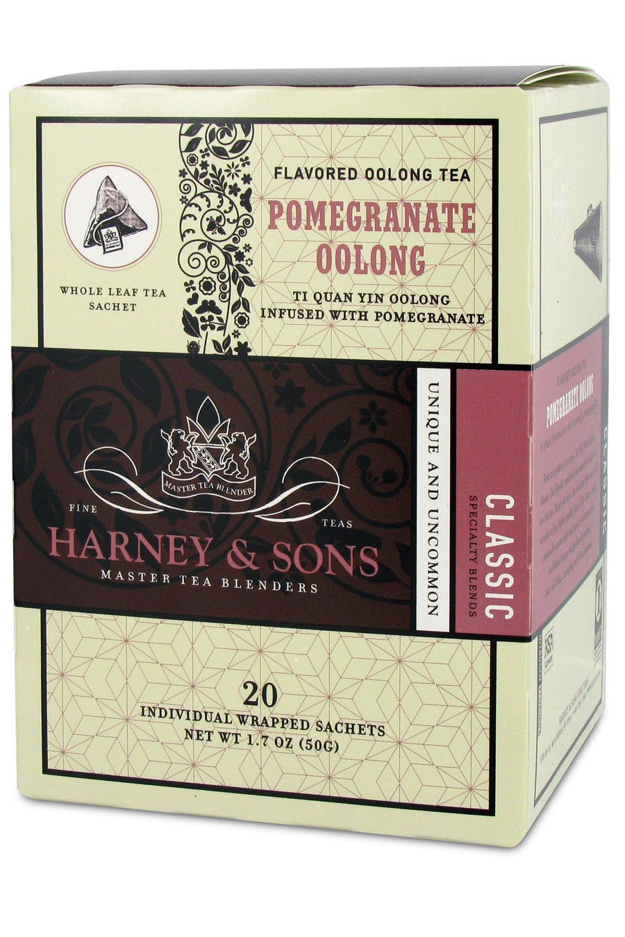 Harney & Sons Pomegranate Oolong Tea 20ct