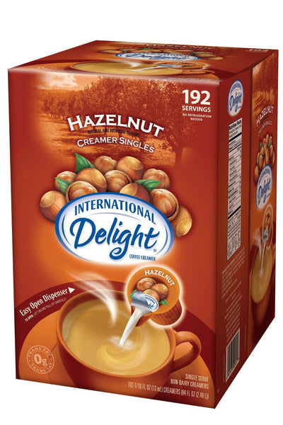 Intl Delight Hazelnut 192ct