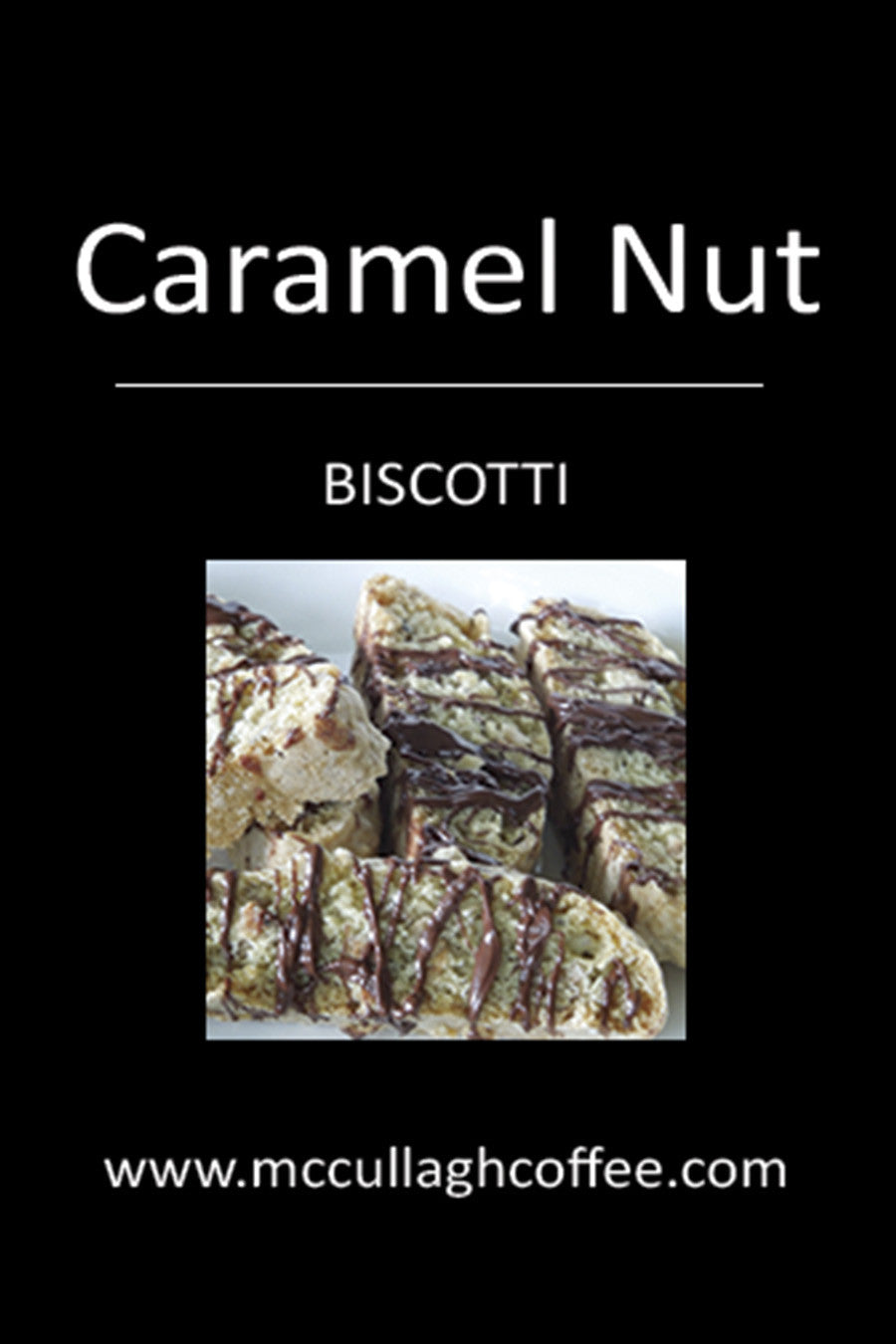 Caramel Nut Biscotti Coffee