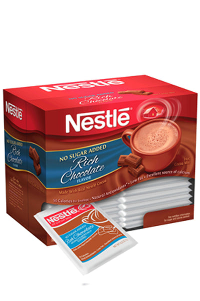 Nestle Rich Hot Chocolate with No Sugar Added 30ct