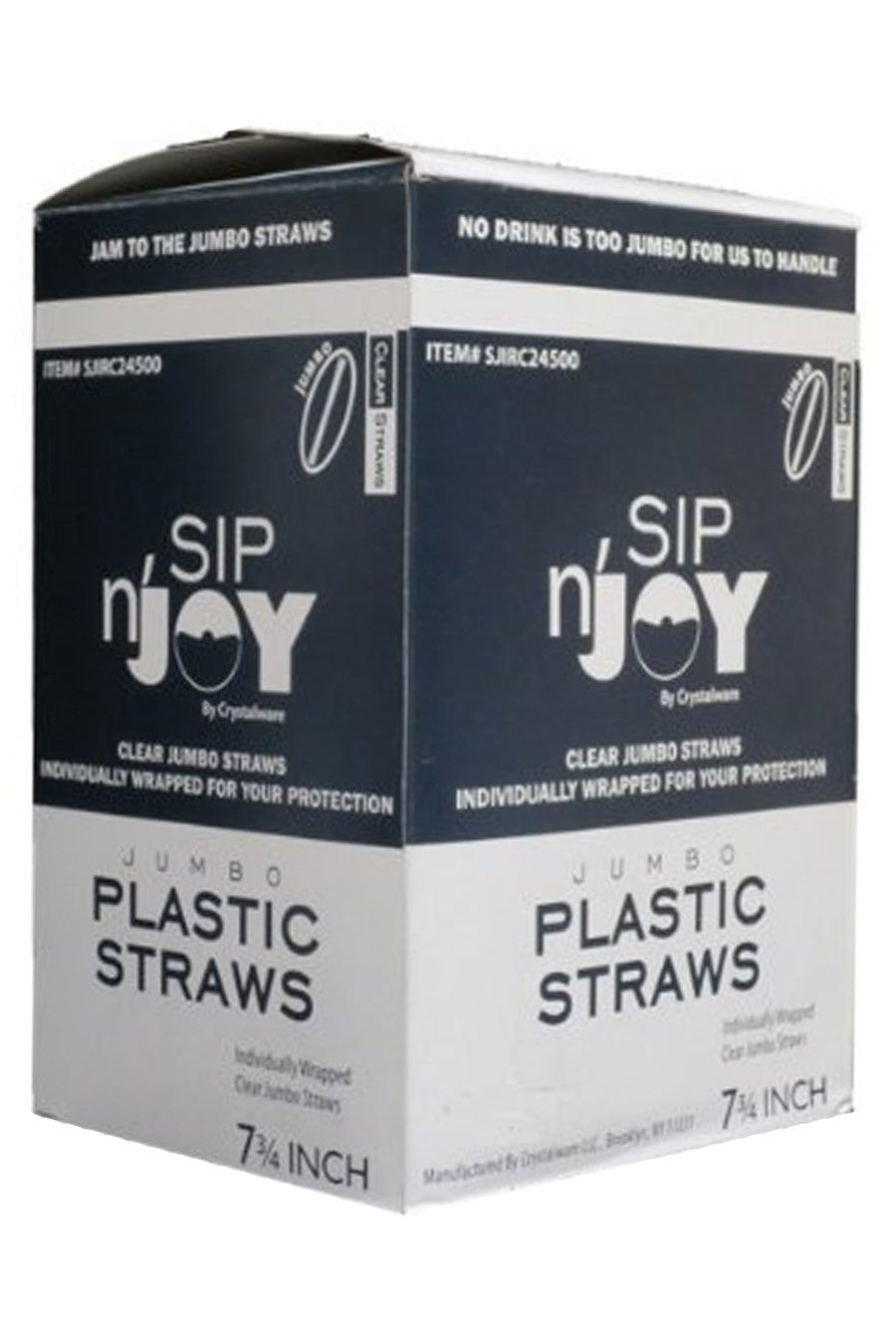 Straws, Wrapped 400ct