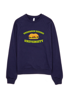 Underage Eating University Sweatshirt (Navy)