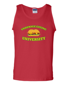 Underage Eating University Tank (Red)