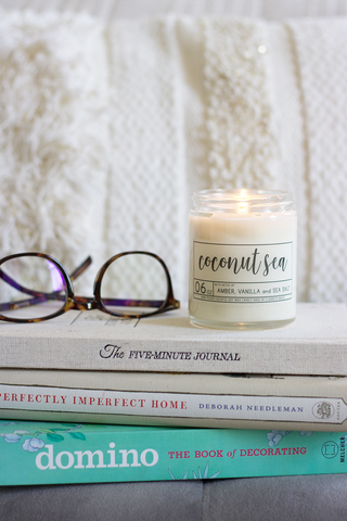 Coconut Sea Soy Candle