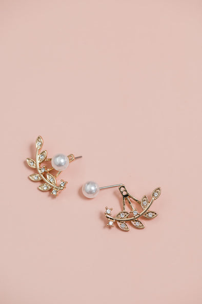 Pearl and Stem Ear Jackets