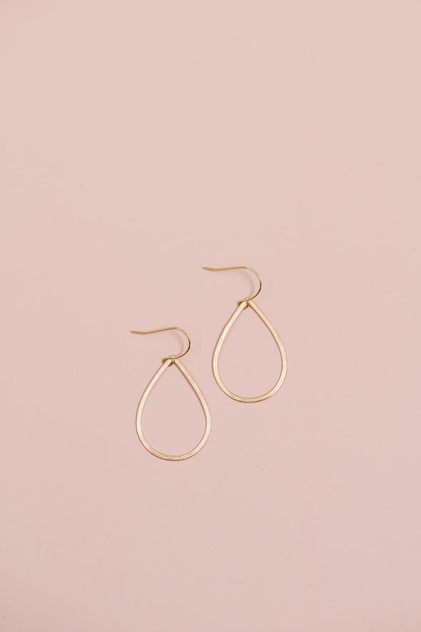 Simple Teardrop Earrings