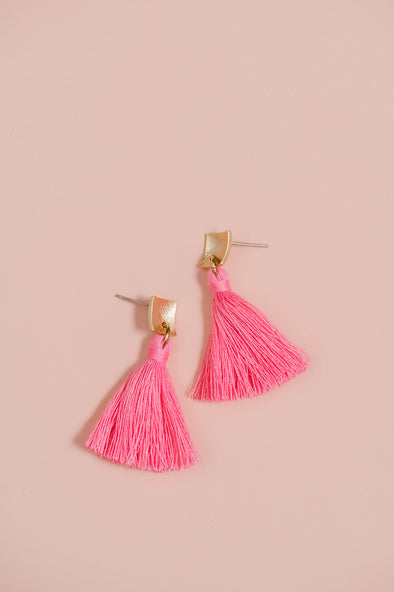 Amalfi Tassel Earrings