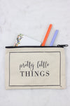 Pretty Little Things Zipper Pouch