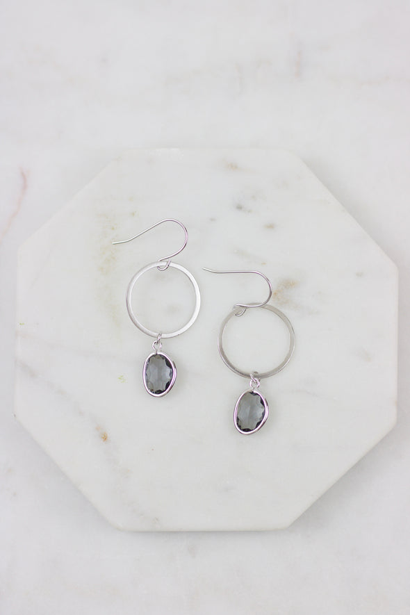 Grey Skies Earrings