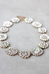 Crystal Bloom Statement Necklace