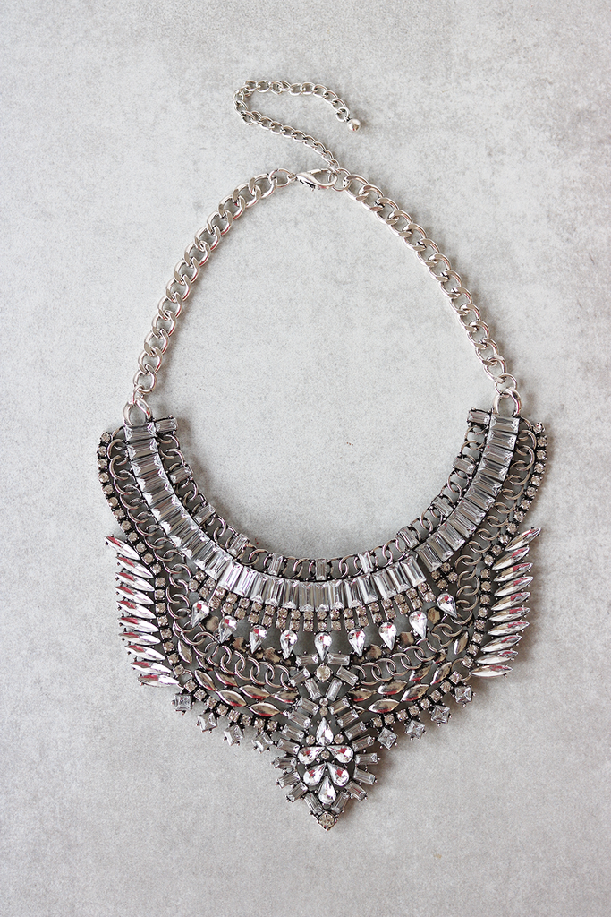 Libby Statement Necklace