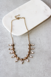 Spike + Sparkle Statement Necklace