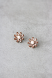 Field of Daisies Statement Studs