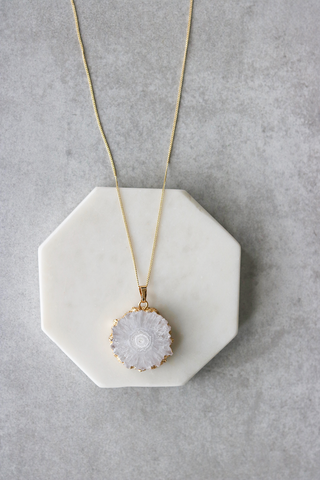 Lunar Quartz Necklace