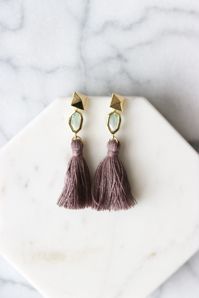 Positano Tassel Earrings