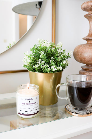 Fig & Sugar Soy Candle