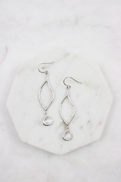 Branch Stone Earrings