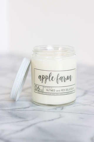 Apple Farm Soy Candle