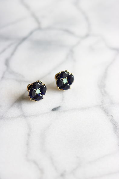 Goldie Statement Studs