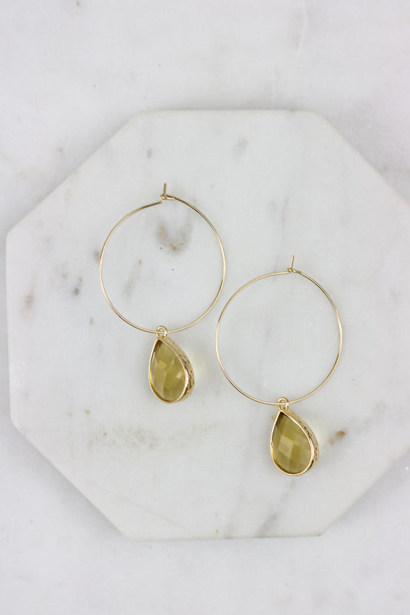 January Drop Earrings