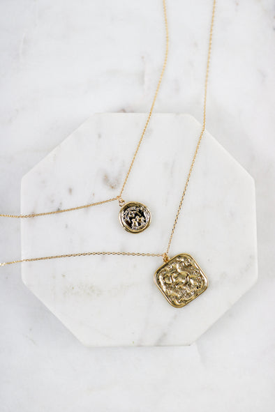 Vintage Coins Necklace Set