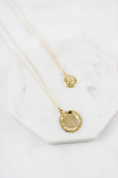 Victorian Coin Necklace Set