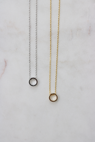 Eternal Circle Necklace