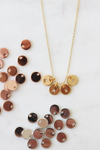 Personalized Mini Discs Necklace