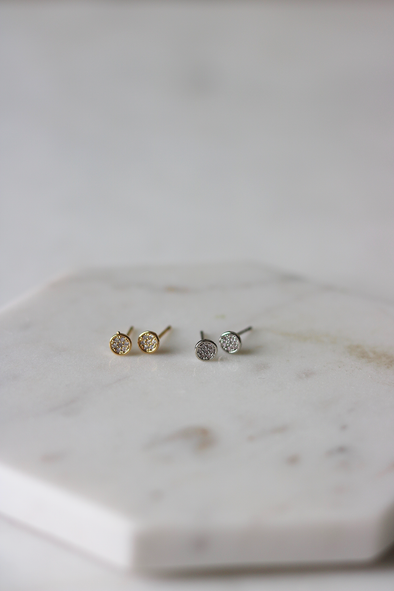 Luxe Disc Studs