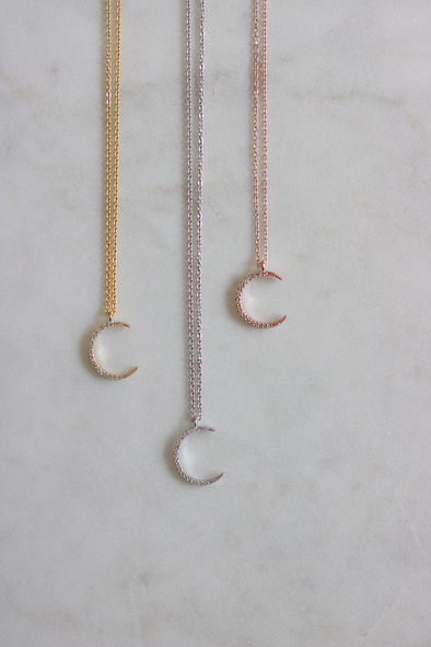 Luxe Moon Necklace