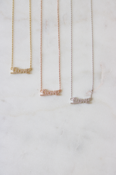 Luxe Love Necklace