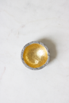 Cement and Gold Ring Dish