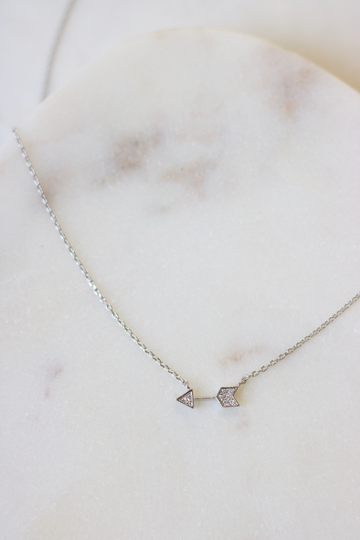 Luxe Arrow Necklace